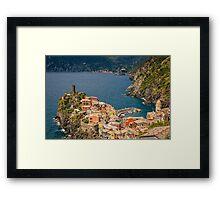 Vernazza Cinque Terre Italy Framed Print