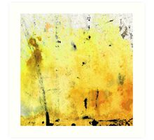 Yellow Abstract Art - Lemon Haze - By Sharon Cummings Art Print