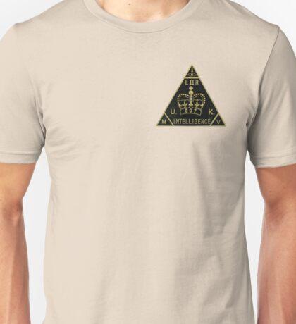 MIV British Intelligence 007 Unisex T-Shirt