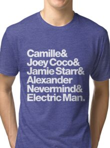 Prince Aliases Joey Coco & Jamie Starr Threads Tri-blend T-Shirt