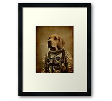 Discover space Framed Print