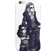 Anya and mini Lexa iPhone Case/Skin