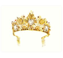 D&G {Crown} Art Print