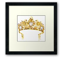 D&G {Crown} Framed Print