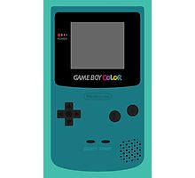Game Boy Teal Photographic Print