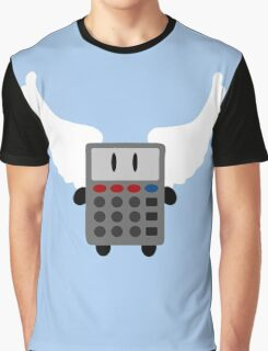 Angel Calculator Graphic T-Shirt