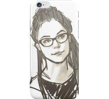 Drawing of Cosima iPhone Case/Skin