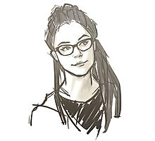 Drawing of Cosima Photographic Print