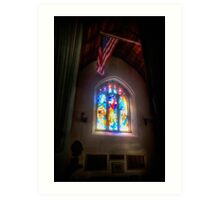 The Crusaders with The Stars and Stripes Art Print