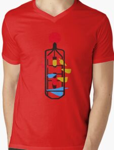 Bucket Fountain (Cuba Mall, Wellington) Mens V-Neck T-Shirt