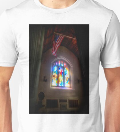 The Crusaders with The Stars and Stripes Unisex T-Shirt