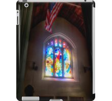 The Crusaders with The Stars and Stripes iPad Case/Skin