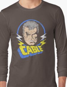 Cable • X-Men Animated Cartoon Long Sleeve T-Shirt