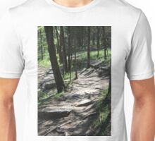 Tennessee Woodland Hiking Trails  Unisex T-Shirt