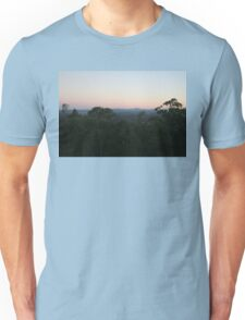 Sunset in Brisbane Unisex T-Shirt