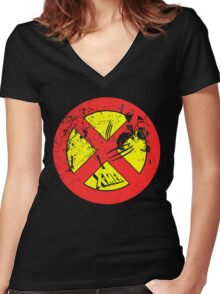 X-Men •2 Of The Best Women's Fitted V-Neck T-Shirt