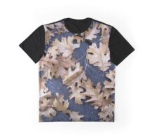 Oak Leaves in Autumn Graphic T-Shirt