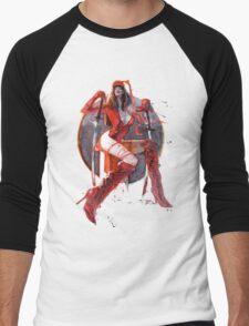 Elektra Men's Baseball ¾ T-Shirt