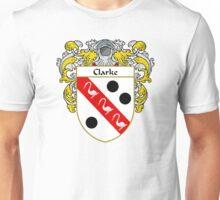 Clarke Coat of Arms/Family Crest Unisex T-Shirt