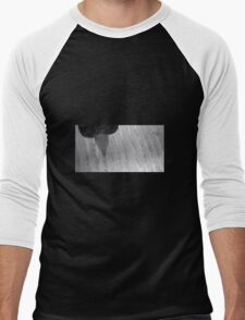 Vinyl Under Microscope Men's Baseball ¾ T-Shirt
