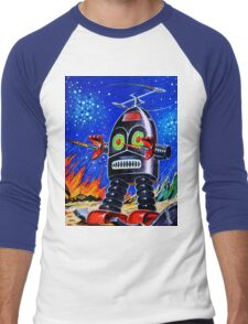 THUNDER ROBOT Men's Baseball ¾ T-Shirt