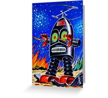 THUNDER ROBOT Greeting Card