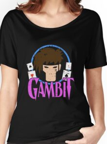 Gambit •X-Men Animated Cartoon Women's Relaxed Fit T-Shirt
