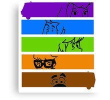 The Scooby Gang Canvas Print