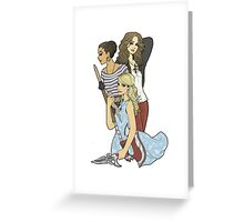 Slayer Girls Greeting Card
