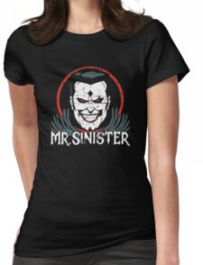 Mr. Sinister • X-Men Animated Cartoon Womens Fitted T-Shirt