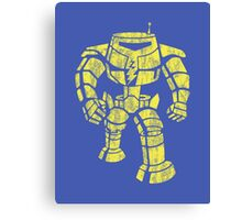 Manbot - Distressed Variant Canvas Print