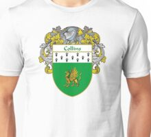 Collins Coat of Arms/Family Crest Unisex T-Shirt