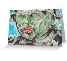Dead Snow: Zombie Greeting Card