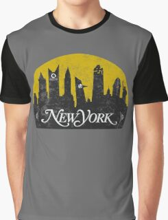 New York (The Cities of Comics) Graphic T-Shirt