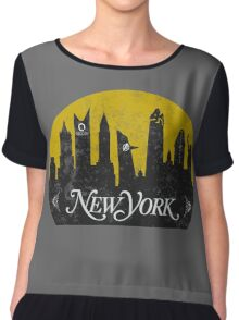 New York (The Cities of Comics) Chiffon Top