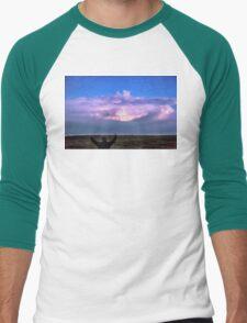 Cheering Nature On Men's Baseball ¾ T-Shirt