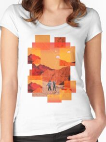 Mars Holidays Women's Fitted Scoop T-Shirt