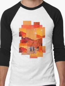 Mars Holidays Men's Baseball ¾ T-Shirt