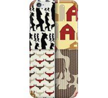 Western, Southwest, Westward HO! iPhone Case/Skin