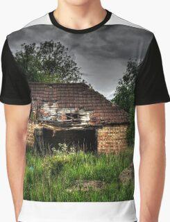 Derelict Barn Graphic T-Shirt