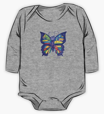 Yoga Butterfly; Namaste  One Piece - Long Sleeve