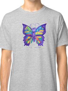 Yoga Butterfly; Namaste  Classic T-Shirt