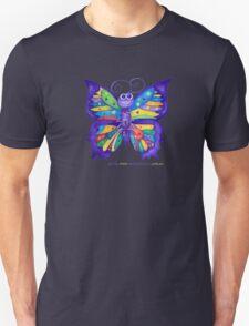 Yoga Butterfly; Namaste  Unisex T-Shirt