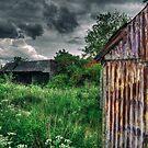 Derelict Farm by Nigel Bangert