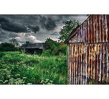 Derelict Farm Photographic Print
