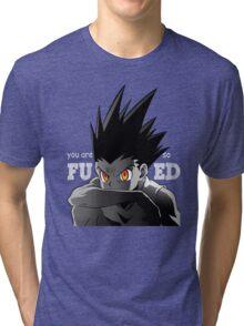 hunter x hunter gon freecs killua pitou anime manga shirt Tri-blend T-Shirt