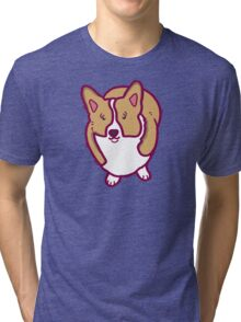 A Corgi Named - Maggie Tri-blend T-Shirt