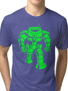Manbot - Super Lime Variant Tri-blend T-Shirt