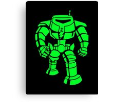 Manbot - Super Lime Variant Canvas Print