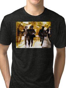 Running Under the Gun Tri-blend T-Shirt